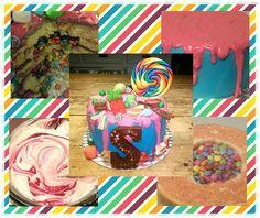 Snoepjestaart / Candy Cake / Making of
