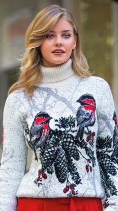 Магазин свитеров Pulltonic - Sweeter4you. Купить вязаный свитер из натуральной шерсти. Прекрасные новогодние подарки для всей семьи Holiday Sweater, Christmas Sweaters, Crochet Designs, Knitting Patterns, Kimono, Turtle Neck, Sewing, Stuff To Buy, Fashion