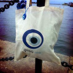 Ftou Me Evil Eye (Greek) Bag - coming soon by Linco!