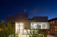 Sundbyoster Hall II by Dorte Mandrup Arkitekter is a fantastic example of what you can do in the #mixeduseaward category. © Adam Mørk #WANAWARDS #mixeduseaward #Denmark