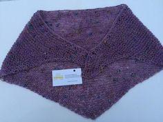 """Cotton, Neck/Shoulder Shrug, W36""""L28"""" Begére Lavender www.etsy.com/shop/TheCraftyShamrock or email thecraftyshamrock@gmail.com Irish, Knit Crochet, Great Gifts, Lavender, Knitting, Shoulder, Clothing, Cotton, Handmade"""