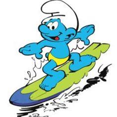 surf smurf, hi,hi