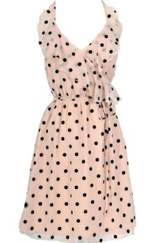 Connect The Dots Pink and Black Designer Dress