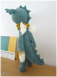 dragon/dinosaure : modèle Dirk par Lydia Tresselt (Lalylala)