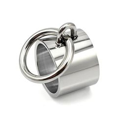 Measure Ring Size, Silver Wedding Rings, Wide Rings, Couple Rings, Types Of Rings, O Ring, Statement Rings, Sterling Silver Rings, Rings For Men