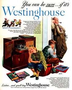 Westinghouse stereo ad