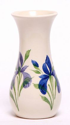 Blue Iris Bouquet Vase - Made in the USA