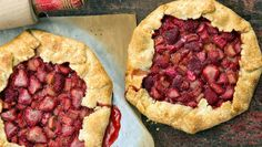 Strawberry-Rhubarb Galette  http://www.rodalesorganiclife.com/food/strawberry-rhubarb-galette