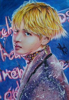 #BTS Wings#Fan art# V(Taehyung)