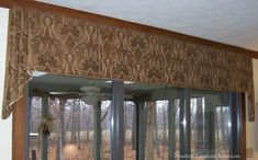 Examples of valances and cornices that I have created.
