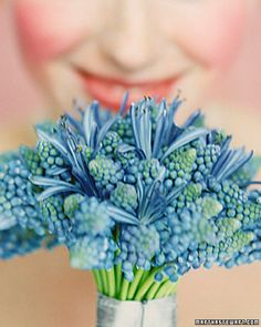 Something Blue...sweet flower...@Emily Smith