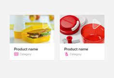 Application for Tupperware on App Design Served