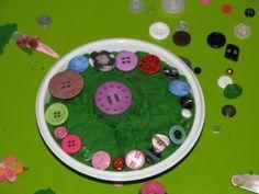 Play Dough & Buttons