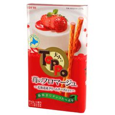Lotte Toppo Strawberry Fromage 2.96 oz