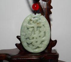 1 9 China Certified Nature Jadeite Hisui Jade Grade A Safety Plate Pendants Jade Necklace, China, Bangle Bracelets, Christmas Ornaments, Antiques, Holiday Decor, Safety, Pendants, Amazon