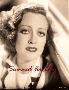 Beautiful vintage original early Joan Crawford  photo