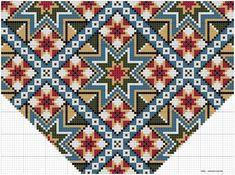 Bilderesultater for brystduk Hardanger Embroidery, Cross Stitch Embroidery, Cross Stitch Patterns, Beading Patterns, Embroidery Patterns, Knitting Patterns, Palestinian Embroidery, Tapestry Crochet, Bead Crochet