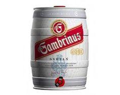 Gambrinus Czech Beer, Beer Keg, Canning, Barrel, Home Canning, Conservation
