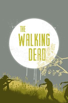 The Walking Dead series movie poster zombie by ThunderDoam