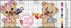 Cross Stitching, Cross Stitch Embroidery, Cross Stitch Patterns, Crotchet Patterns, Cross Stitch Boards, Cross Stitch Animals, Betty Boop, Teddy Bear, Fictional Characters