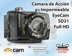 Sumergible Cámara EyeCam SD21 Full HD sólo en Foto Regis.