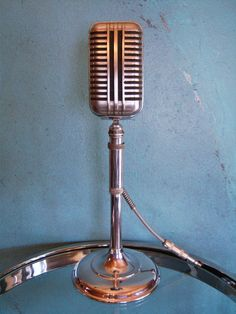 Vintage RARE 1940's Astatic WR 40 Crystal Microphone Old Antique w F 11 Adapter | eBay