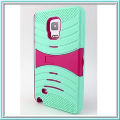 Note Edge: Tuff, Catchy Dual-Layer With Kickstand Case in Assorted Colors