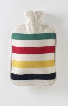 Hudson's Bay Company Blanket Stripes Hot Water Bottle