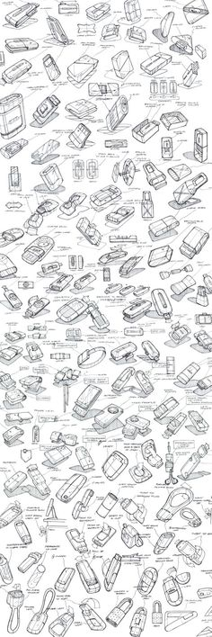 Product Sketching & Ideation by Mason Umholtz
