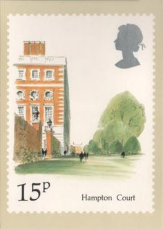 British stamp design