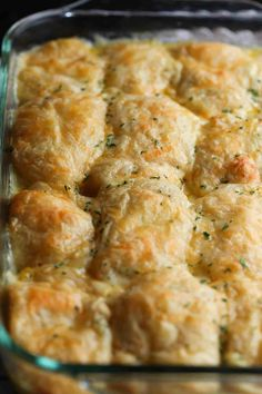 Cheesy Chicken Crescent Bake is easy, nostalic and SO good! A total kid friendly dish, guaranteed to be a family favorite! Cheesy Chicken Crescent Bake is easy, nostalic and SO good! A total kid friendly dish, guaranteed to be a family favorite! Chicken Thights Recipes, Chicken Parmesan Recipes, Healthy Chicken Recipes, Cooking Recipes, Kid Friendly Chicken Recipes, Chicken Meals, Recipe Chicken, Cooking Tips, Chicken Soup