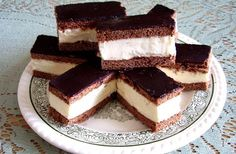 Csokis tejszelet süti | femina.hu