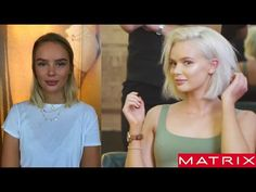 || Creating the Perfect Platinum Bob/Lob || Inspired by Kylie Jenner & Cara Delevingne - YouTube