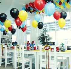 Birthday party -dogum gunu partisi -susleme