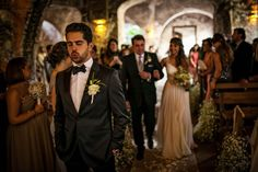 The groom, just before seeing his beautiful bride | Jorge Kick Photography