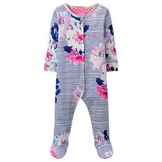 Buy Bonds Baby Gypset Blooms Zip Wondersuit Sleepsuit Black Multi
