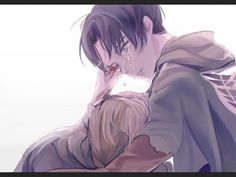 Rivaille (Levi) x Petra Ral----Hear that soft shattering sound? Yeah,that's my heart breaking. ;n;