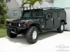 The Hummer Wagon - plenty of room for your peeps and the ability to climb a tree.