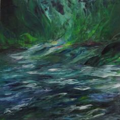"Saatchi Art Artist Susan Cavaliere; Painting, ""Riverdance"" #art"