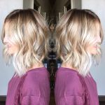 Soft wavy bob cut for women
