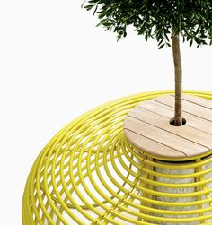 Kirv outdoor furnishings - probably not in our budget but so gorgeous and longlasting!