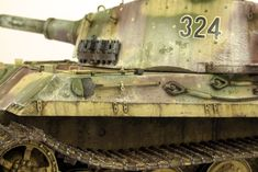 The Modelling News: Andy finishes Meng Models scale King Tiger Henschel Turret with AK shades. Tiger Ii, The Modelling News, Detailed Paintings, Tiger Tank, Camo Colors, Model Tanks, Ww2 Tanks, Panzer, Model Building