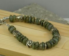 bracelet free shipping sterling silver and by PiaBarileJewelry, $29.00