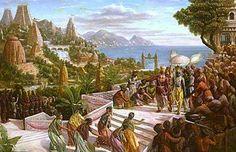 The Lost Continent of Kumari Kandam (Lemuria)