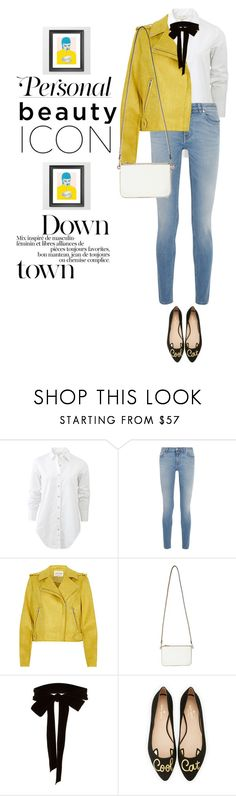 """""""mini"""" by luanna98 ❤ liked on Polyvore featuring rag & bone, Givenchy, Miss Selfridge, Monique Lhuillier and Kate Spade"""