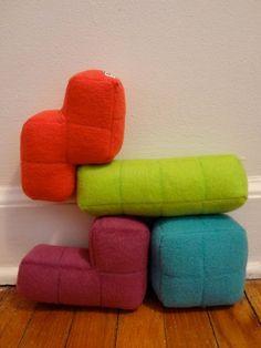Almofadas Tetris