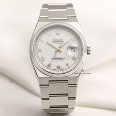 Discover a large selection of Rolex Datejust Oysterquartz watches on - the worldwide marketplace for luxury watches. Compare all Rolex Datejust Oysterquartz watches ✓ Buy safely & securely ✓ Rolex Gmt, Rolex Submariner, Rolex Watches, Sky Dweller, Stainless Steel Rolex, Buy Rolex, Dream Watches, Telling Time, Oysters