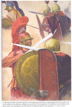 Battle of Magnesia. Seleucids against Romans. Artwork by Graham Sumner.