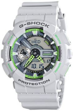 Shop a great selection of Casio Men's G-Shock Grey Watch. Find new offer and Similar products for Casio Men's G-Shock Grey Watch. Casio G Shock Watches, Sport Watches, Cool Watches, Watches For Men, Black Watches, Rolex Watches, Casio G-shock, Casio Watch, Mens Digital Watches