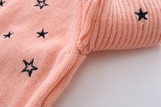 bb91f1e30 Amazon.com: Mud Kingdom Toddler Girls Pullover Sweaters Cute Embroidered  Stars: Clothing